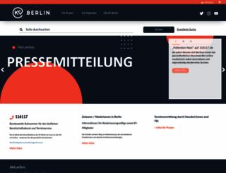 kvberlin.de screenshot