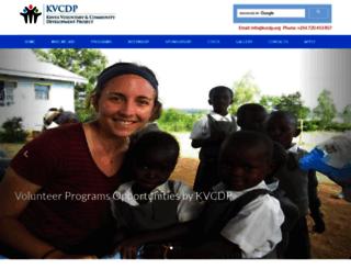 kvcdp.org screenshot