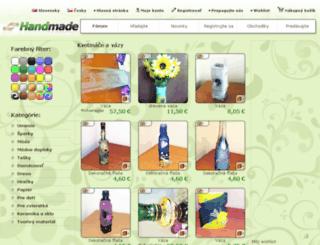 kvetinace-a-vazy.handmade.sk screenshot