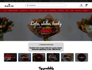 kvetyprevas.sk screenshot