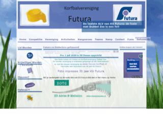 kvfutura.nl screenshot