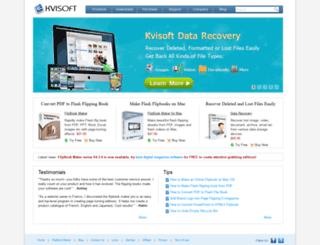 kvisoft.com screenshot