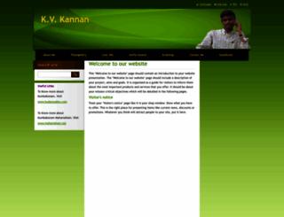 kvkannan.webnode.com screenshot