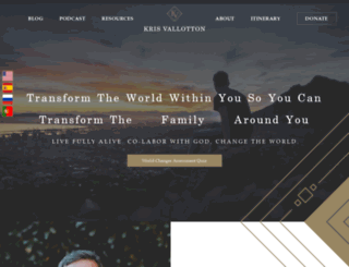 kvministries.com screenshot