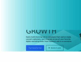 kvsocial.leadpages.net screenshot