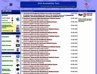 kvstool.com screenshot