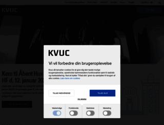 kvuc.dk screenshot