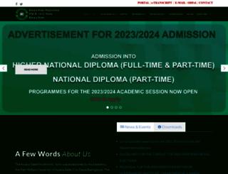 kwarastatepolytechnic.edu.ng screenshot