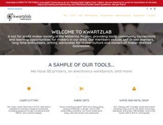 kwartzlab.ca screenshot