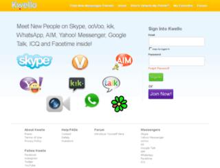 kwello.com screenshot