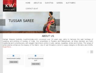 kwethnicindia.com screenshot
