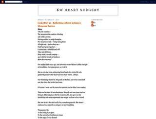 kwheartsurgery.blogspot.hu screenshot