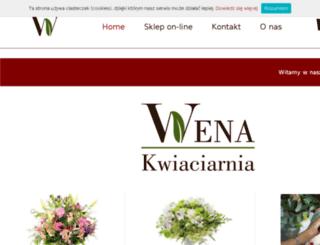kwiaciarniaczestochowa.pl screenshot
