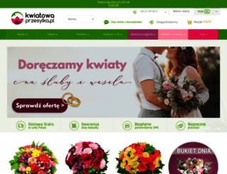 kwiatowaprzesylka.pl screenshot