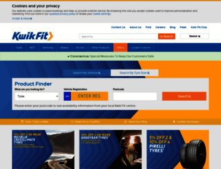 kwik-fit.com screenshot