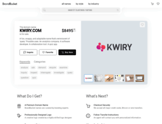 kwiry.com screenshot