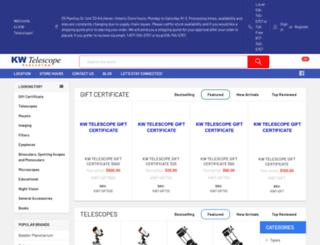 kwtelescope.com screenshot
