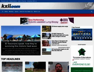kxii.com screenshot
