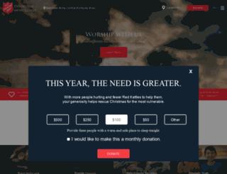 ky.salvationarmy.org screenshot