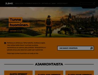 kyamk.fi screenshot