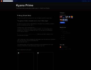 kyanaprime.blogspot.com screenshot