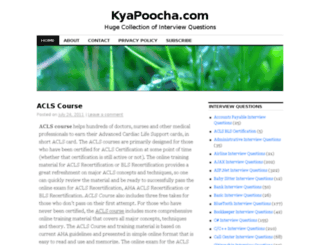 kyapoocha.com screenshot