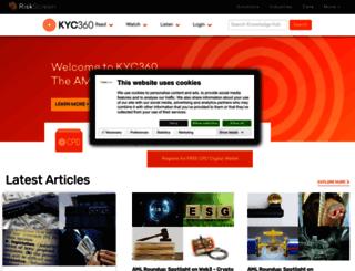 kyc360.com screenshot