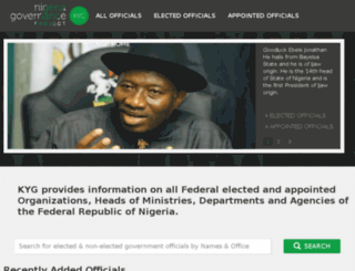 kyg.nigeriagovernance.org screenshot