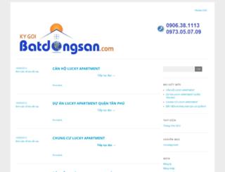 kygoibatdongsan.wordpress.com screenshot