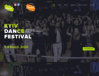 kyivdancefestival.com screenshot