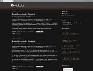 kylelutz.blogspot.se screenshot