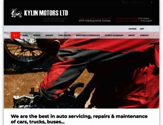 kylinmotors.com screenshot