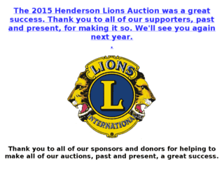 kylions.auctionanything.com screenshot