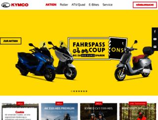 kymco.de screenshot