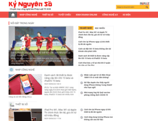 kynguyenso.phapluattp.vn screenshot
