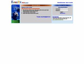 kyniem.easyvn.com screenshot