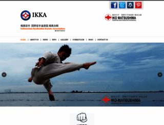 kyokushin.or.id screenshot