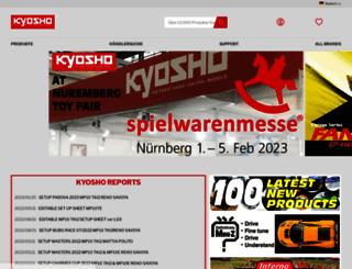 kyosho.de screenshot