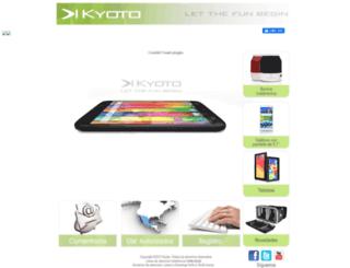 kyotoelectronics.com screenshot