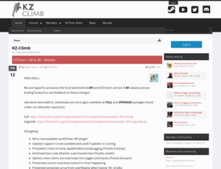 kz-climb.com screenshot