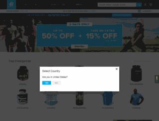 kz.bodybuilding.com screenshot