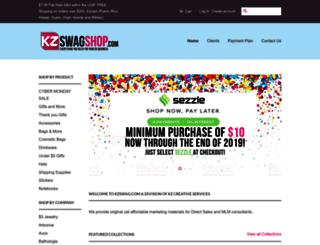 kzcreativeservices.com screenshot