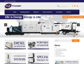 kzpower.com screenshot