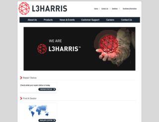 l-3avionics.com screenshot