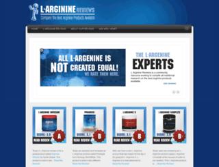 l-arginine-reviews.com screenshot