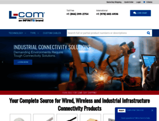 l-com.com screenshot