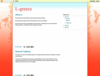 l-greece.blogspot.com screenshot