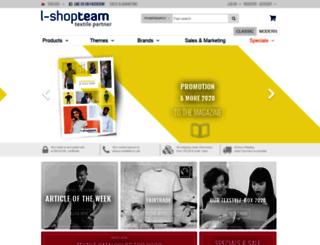 l-shop-team.de screenshot