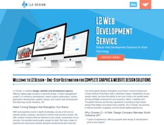 l2-design.co.uk screenshot