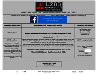 l200.org.uk screenshot